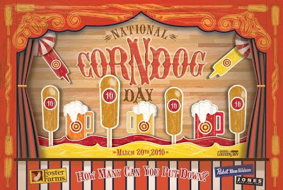 National Corndog Day March 20, 2010