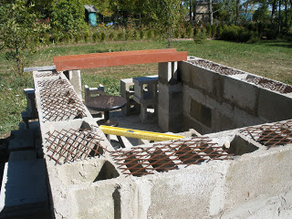 Wood-Fired Oven ~ Block Base part II