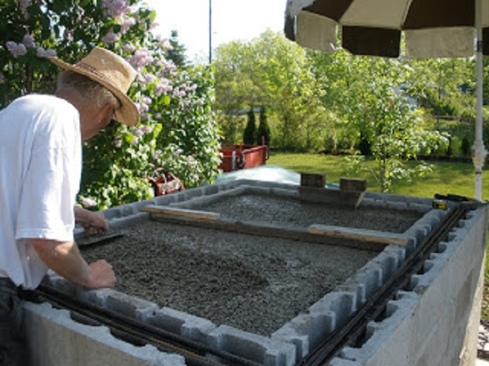 Wood-Fired Oven ~ Hearth Insulation