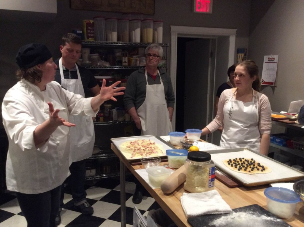 Pizza Making Workshop at Seasons