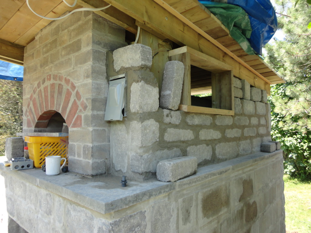 Wood-Fired Oven ~ More Stone Work