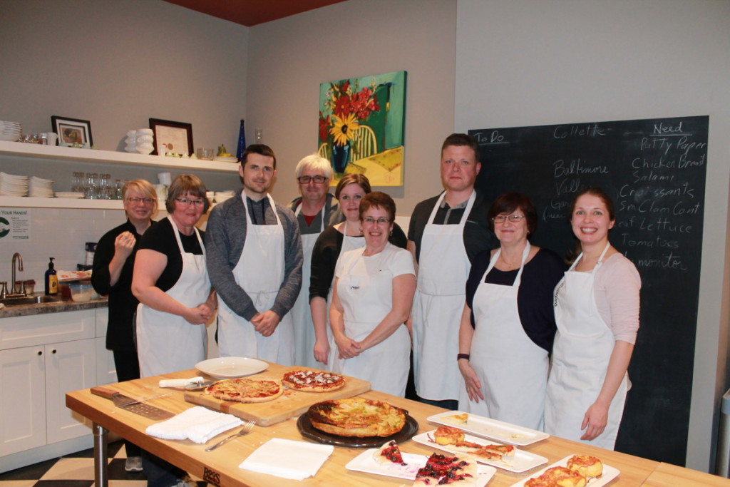 Pizza Making Class at Seasons Fine Foods
