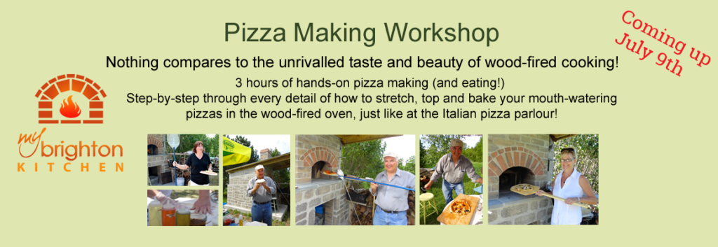 Pizza Making Workshop: Wood-Fired Oven