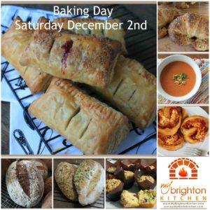 Baking Day Collage