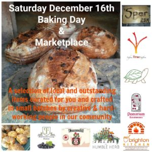 Marketplace & Baking Day Dec 16 2017