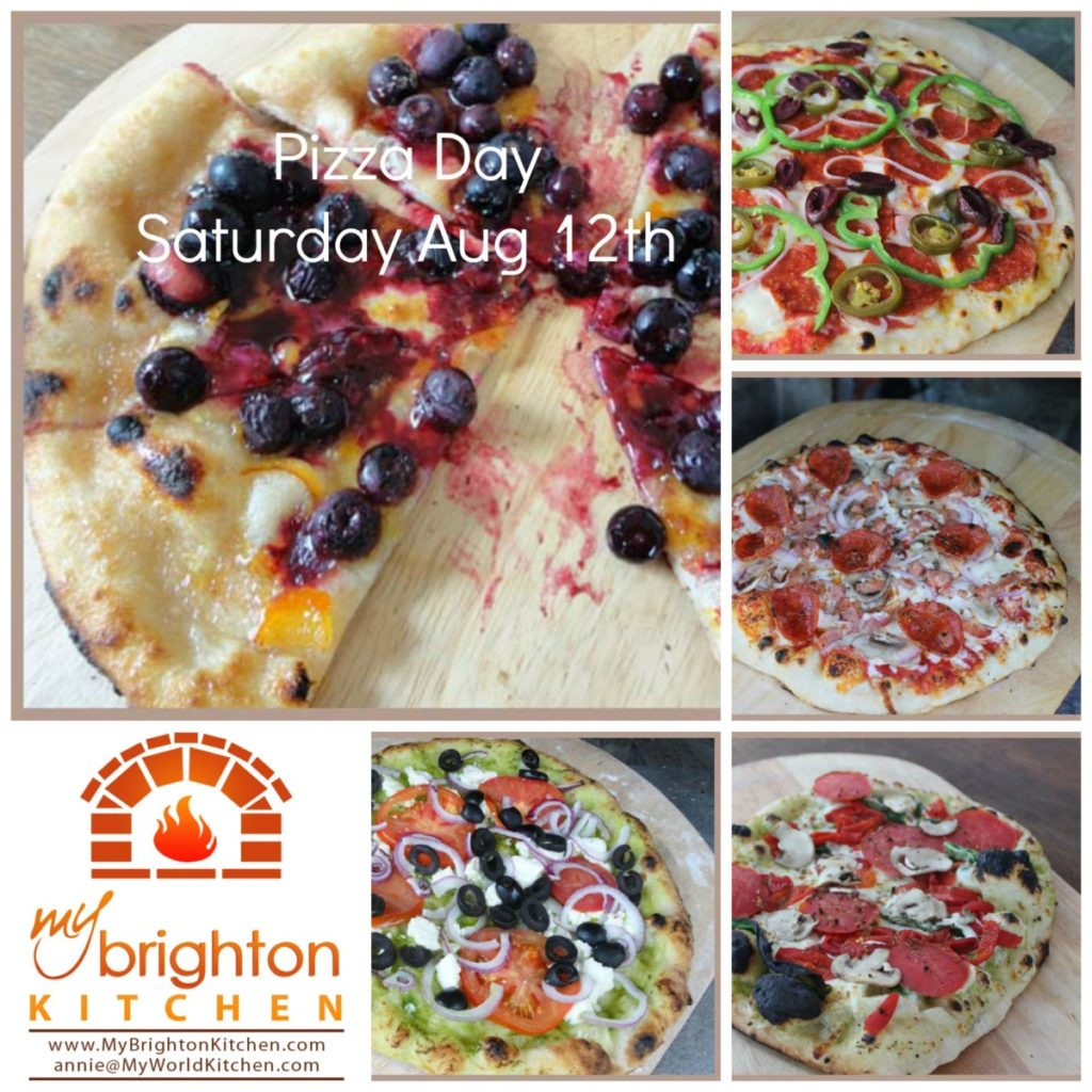 Pizza Day ~ Saturday August 12th 2017