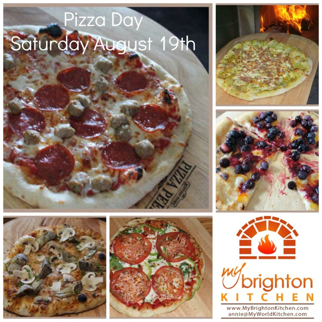 Pizza Day ~ Saturday August 19th 2017