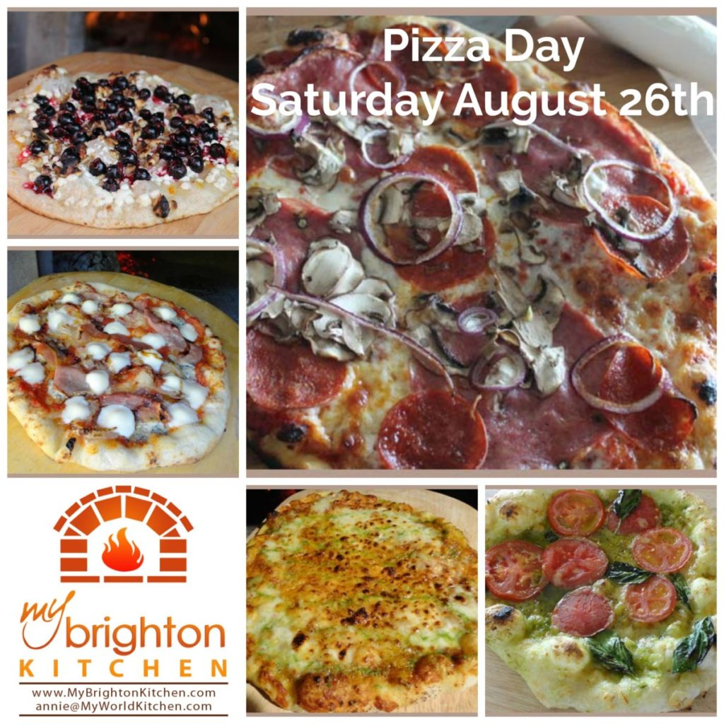 Pizza Day ~ Saturday August 26th 2017
