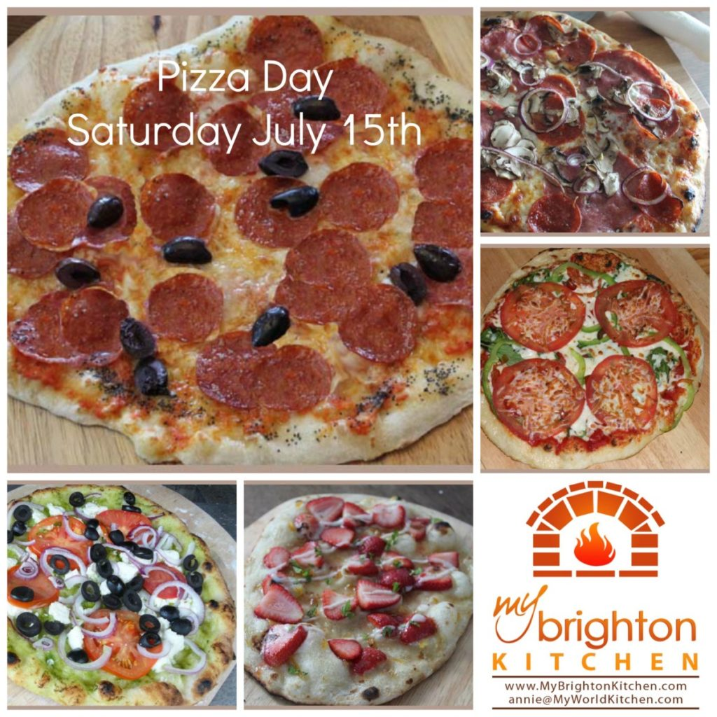 Pizza Day ~ Saturday July 15 2017
