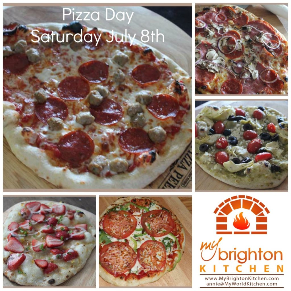 Pizza Day ~ Saturday July 8 2017