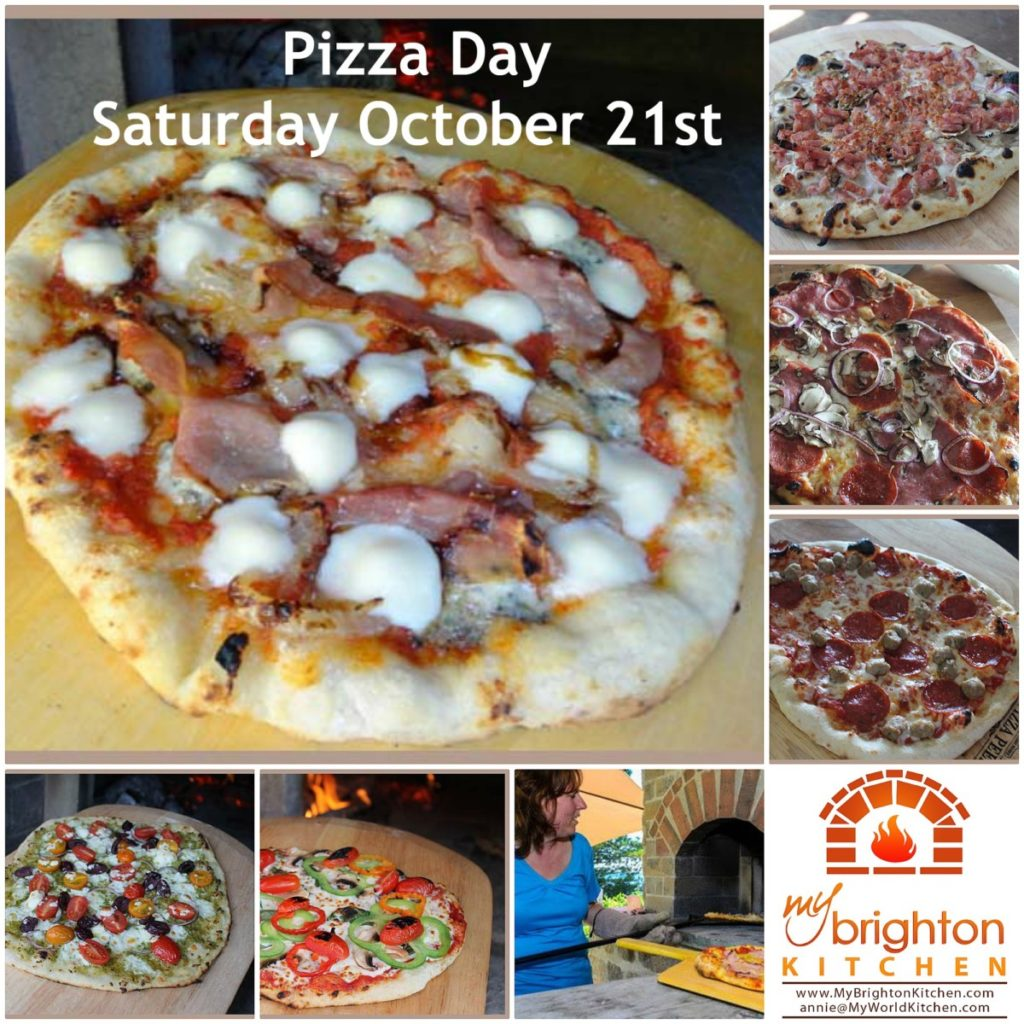 Pizza Day ~ Saturday October 21st