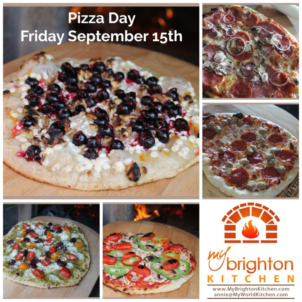 Pizza Day ~ Friday September 15th 2017