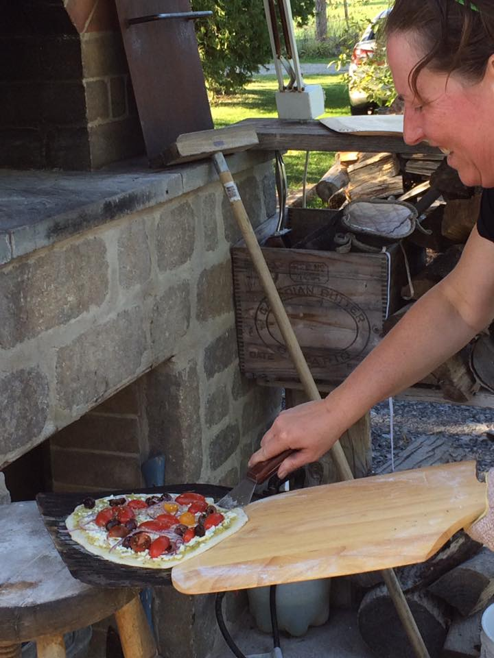 Make-Your-Own Pizza Potluck @ Brighton's only Wood-Fired Oven